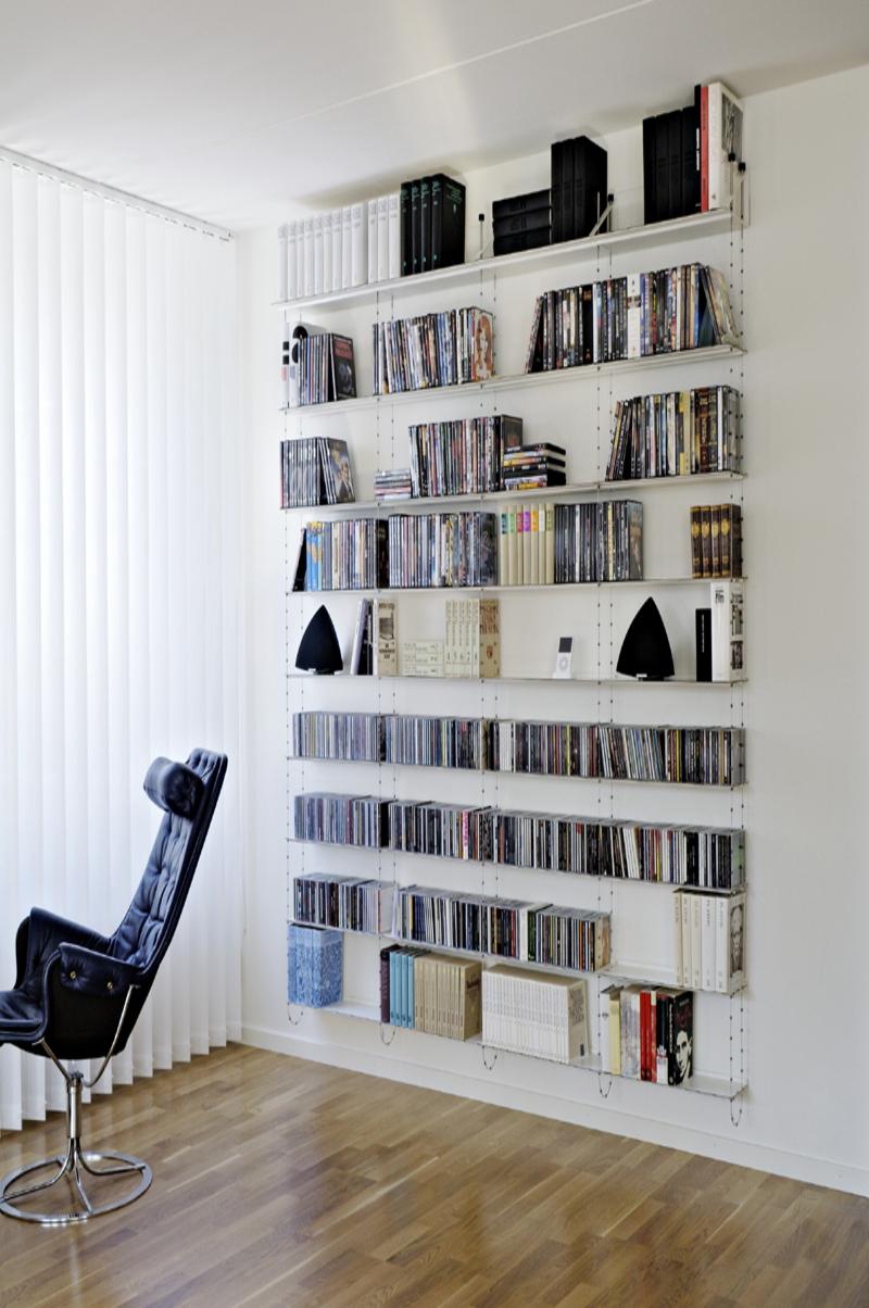 bibliothèque scandinave - chewinghome