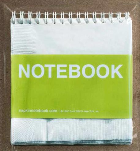Napkinnotebook