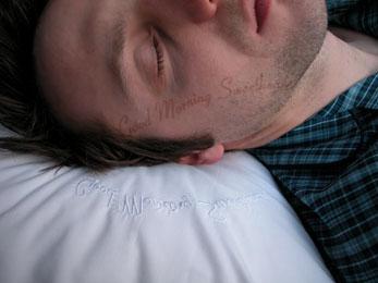 Pillowwithtext